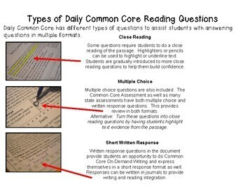 A Full School Year (Daily Common Core Reading) Grade 3