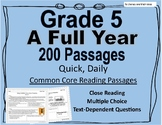A Full School Year (Daily Common Core Reading) Grade 5