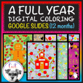 Memorial Day & Other Digital-Coloring Pages for Google Slides™