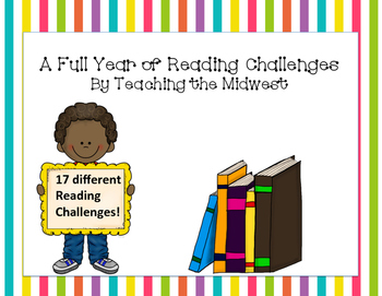 A Full Year of Reading Challenges-Editable