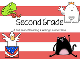 A Full Year of Reading & Writing Lesson Plans for 2nd Grade