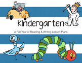 A Full Year of Reading & Writing Lesson Plans for Kindergarten
