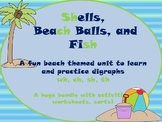 A Fun Beach Themed Unit to Practice Digraphs (th, sh, wh, sh)