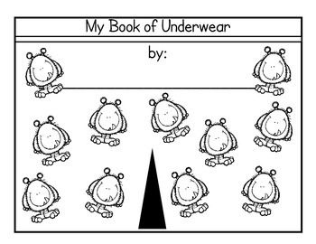 Underwear! by Mary Elise Monsell - Take home book!