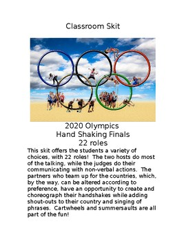 A Fun Classroom Skit 2020 Olympics Hand Shaking Finals
