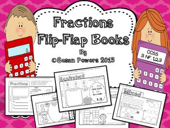A Fun Fractions Flip Flap Book