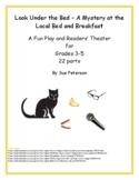 """A Fun Play and Readers' Theater """"A Mystery at the Local Bed and Breakfast"""""""