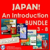 Japan! An Introduction Bundle - Country Study, Mapping, Ar