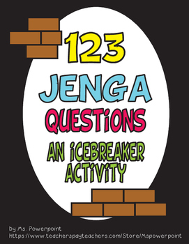A Fun and Interactive Icebreaker Activity - JENGA