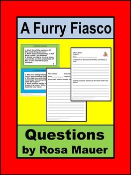 A Furry Fiasco Literacy Unit