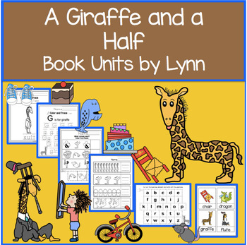 A GIRAFFE AND A HALF BOOK UNIT