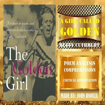 A GIRL CALLED GOLDEN: POEM ANALYSIS & CRITICAL APPRECIATION