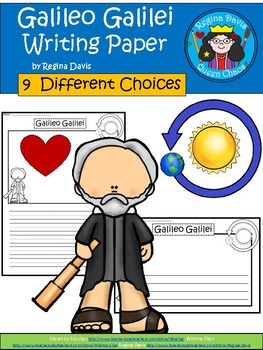 A+ Galileo Galilei ... Writing Paper