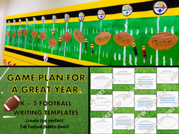 Kick Off to a Great Year - Football Game Plan Goal Setting Writing Templates