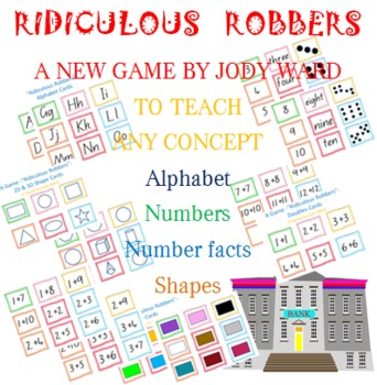 Numbers & Numerals Game Ridiculous Robbers