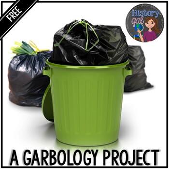 A Garbology Project {Freebie}