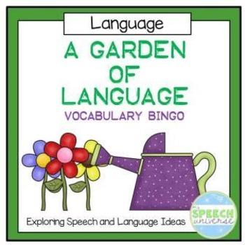 A Garden of Language: Vocabulary Bingo