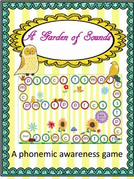 A Garden of Sounds: A Phonemic Awareness Game