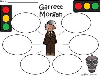 A+ Garrett Morgan... Three Graphic Organizers