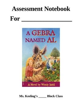 A Gebra Named Al Comprehension Notebook