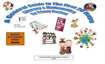 A General Guide To The First 20 Days In Literacy & Math For Primary Teachers