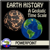 A Geologic Time Scale Earth HIstory PowerPoint