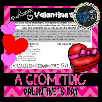 A Geometric Valentine's Day; Geometry, Vocabulary