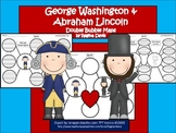 A+ George Washington & Abraham Lincoln:  Double Bubble Maps