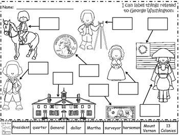 A+ George Washington Labels II