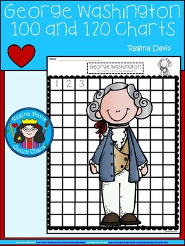 A+ George Washington: Numbers 100 and 120 Chart