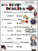 A+ George Washington: Fill In the Blank.Multiple Choice Sight Word Sentences