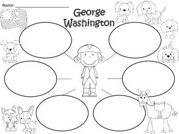 A+ George Washington... Three Graphic Organizers
