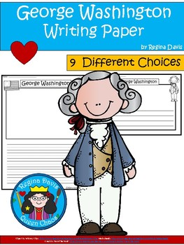George Washington Writing Paper Teaching Resources | Teachers Pay ...