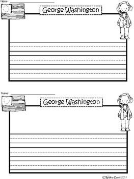 A+ George Washington ... Writing Paper
