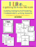 A Getting To Know Me Book Writing Activity for Beginning Writers