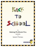 A Getting-to-Know-You Worksheet for Back-to-School