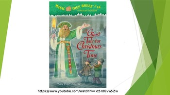 A Ghost Tale for Christmas Time Magic Tree House #44