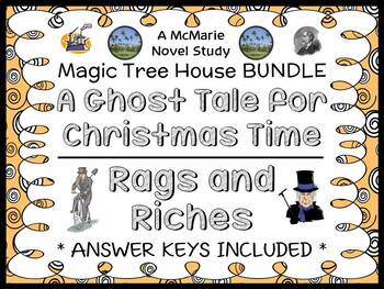 A Ghost Tale for Christmas Time | Rags and Riches : Magic Tree House BUNDLE