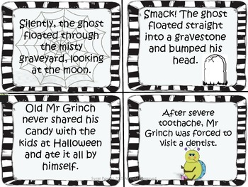 A Ghoulish Game of Cause and Effect for Interactive Literacy Centers