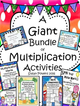 A Giant Bundle of Multiplication Activities for Big Kids