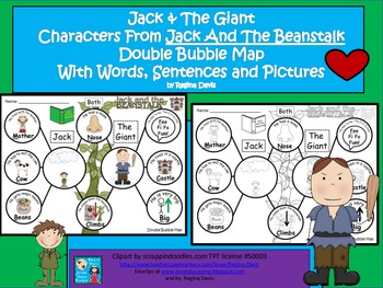 A+ Giant and Jack And The Beanstalk....Double Bubble: Word