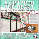 A Gift From The Heart Christmas Character Analysis Activity