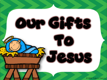 A Gift for Jesus Bulletin Board Set