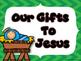 A Gift for Jesus Bulletin Board Set
