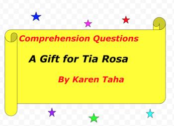 A Gift for Tia Rosa by Karen Taha