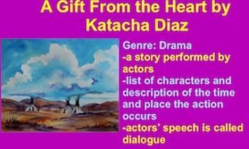 A Gift from the Heart Vocabulary Presentation