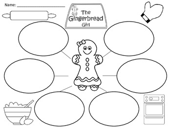 A+ Gingerbread Girl: Graphic Organizers