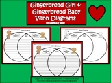 A+ Gingerbread Girl and Gingerbread Baby Venn Diagram