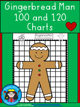 A+ Gingerbread Man 100 and 120 Chart