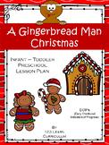 A Gingerbread Man Christmas Lesson Plan